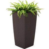 Product Image Best Choice Products Self Watering Wicker Planter W Water Level Indicator