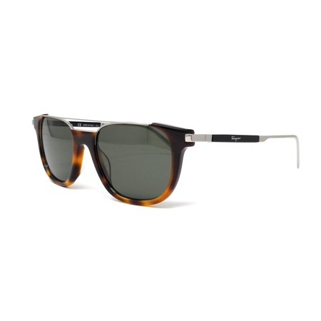Salvatore Ferragamo Sunglasses SF160S 214 Tortoise Rectangle (214 Sunglasses)