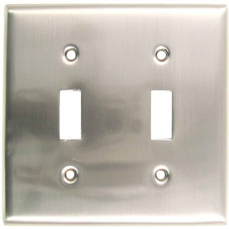 Rusticware 785 Double Toggle Switch Plate