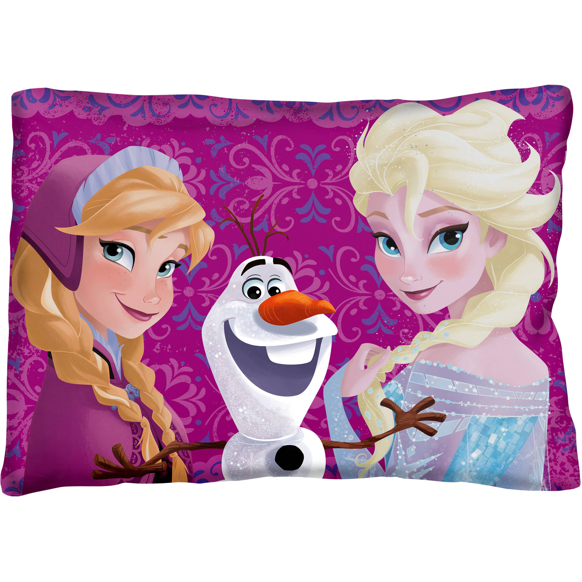 "Frozen ""Sister Always"" Bed Pillow"