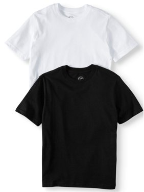 0a5476114879 Product Image Wonder Nation Short Sleeve Crew Neck Tee Shirt Value, 2-Pack  Set (Little