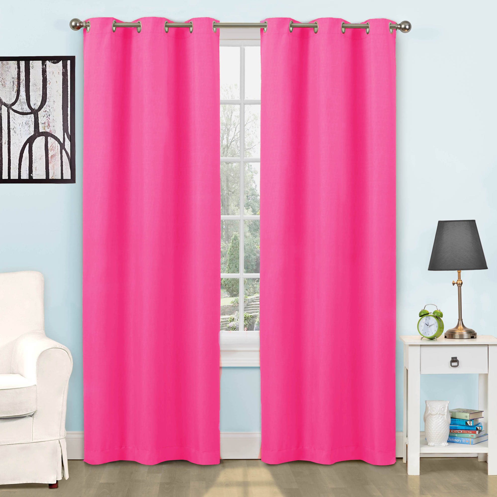 Eclipse Dayton Blackout Energy Efficient Kids Bedroom Curtain Panel. Kids  Curtains