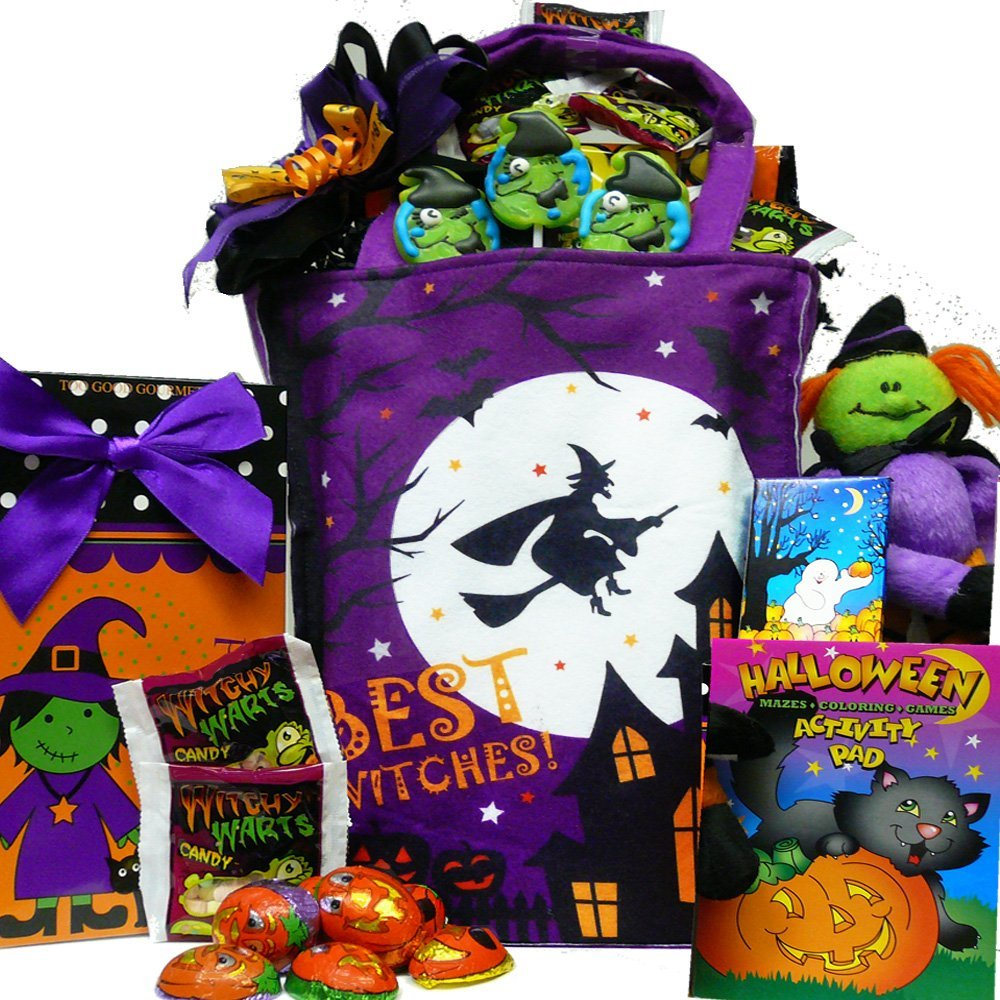 Best Witches Candy and Snacks Gift Tote - Halloween Gift ...