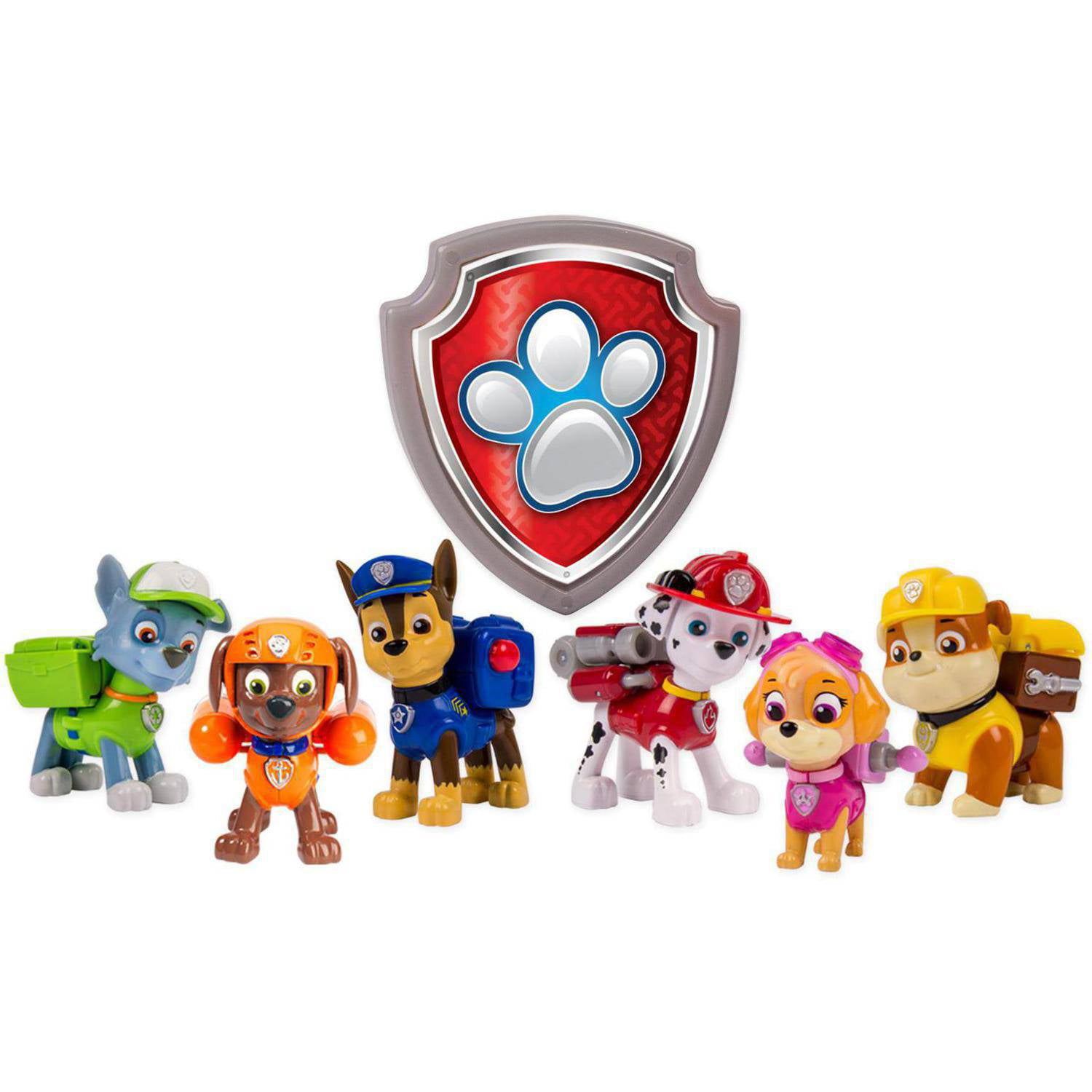 Paw Patrol Action Pup 6 Pack Walmart Exclusive Walmart