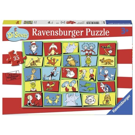 Dr. Seuss Characters 35 pcs. - Jigsaw Puzzle by Ravensburger (08606) - Seuss Characters