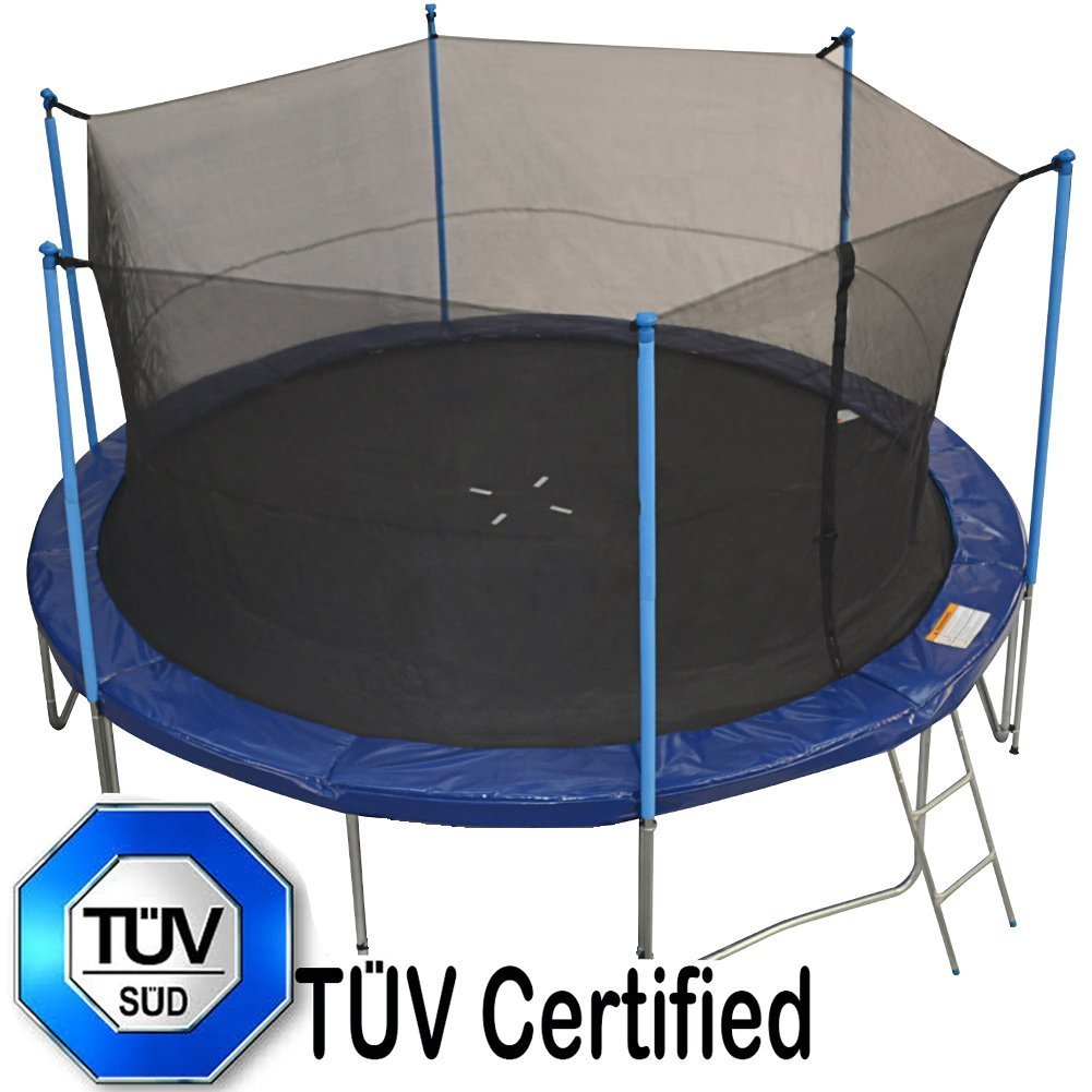 Zupapa 14 T 220 V Certified Trampoline With Enclosure Safety