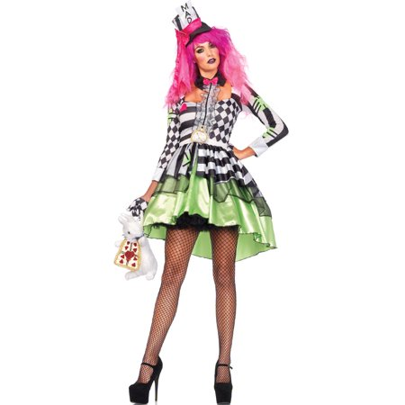 Leg Avenue Deliriously Mad Hatter Adult Womens Costume - Mad Hatter Woman Costume