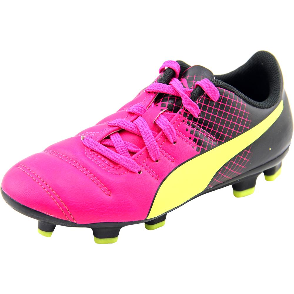 Puma evoSpeed 4.3 FG Jr Soccer Cleats Youth  Synthetic Multi Color Cleats