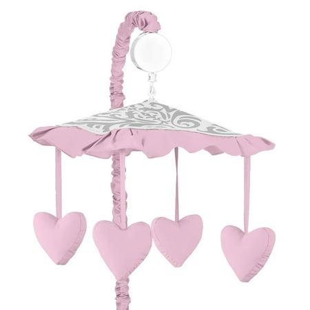 Sweet Jojo Designs Elizabeth Musical Crib Mobile Walmart Com