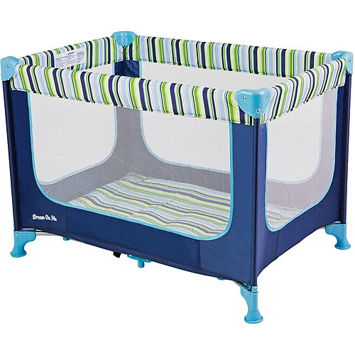 Dream On Me Zodiak Portable Play Yard, Navy