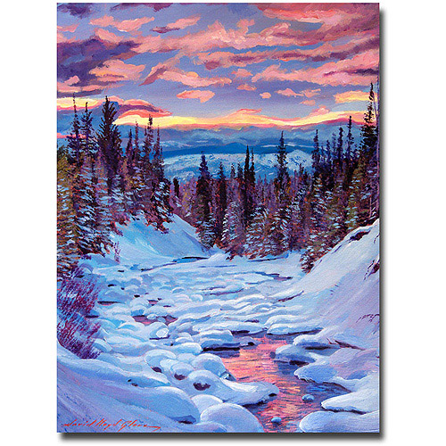 "Trademark Art ""Winter Solstice"" Canvas Wall Artwork by David Lloyd... by TRADEMARK GAMES INC"