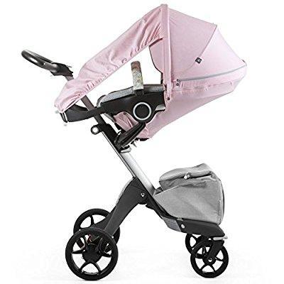 Stokke stroller summer kit, flora pink