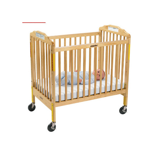 Angeles Evacuation Convertible Crib with Mattress