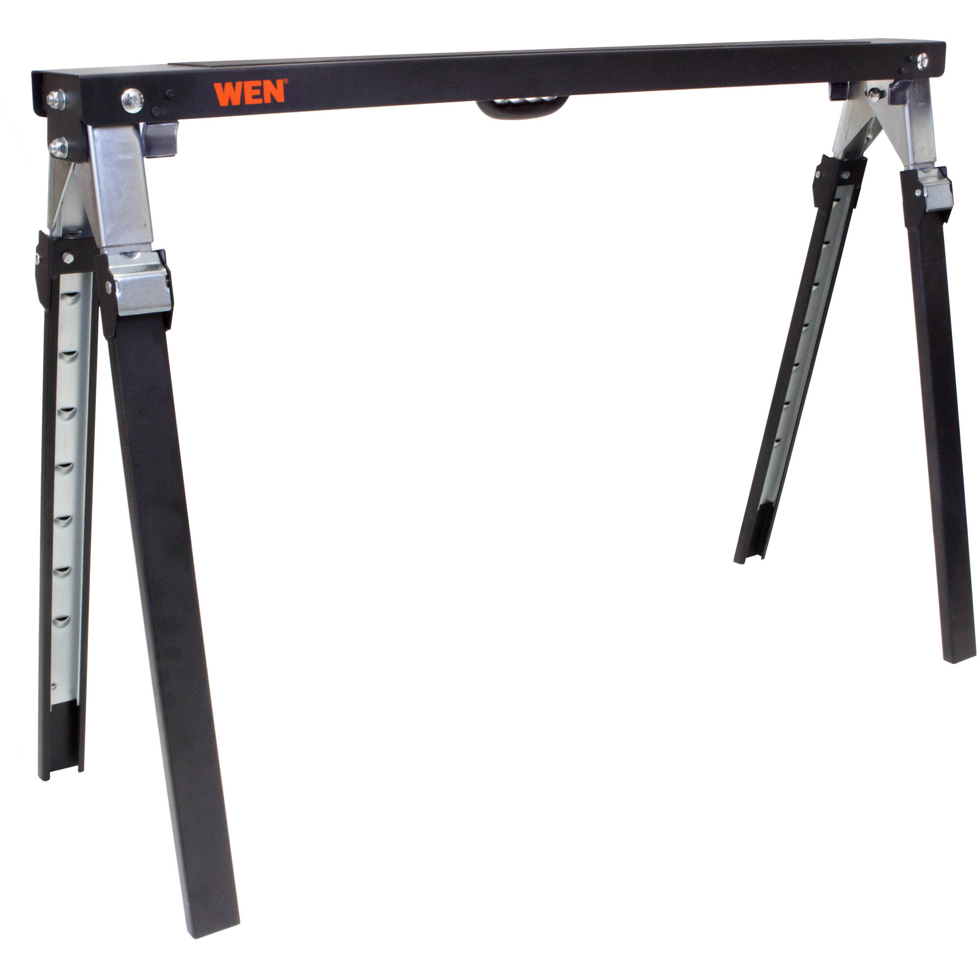 WEN 1000-Pound Capacity Adjustable Folding Sawhorse