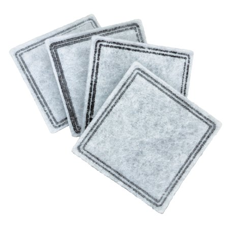 - Premier Pet Replacement Carbon Filters for Pet Fountains - Removes Bad Tastes and Odors - Pack of 4
