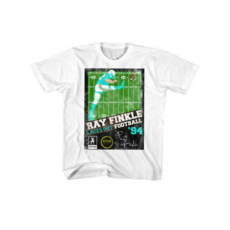 Ace Ventura Pet Detective Comedy Movie Ray Finkle Football Little Boys T-Shirt - image 1 of 1
