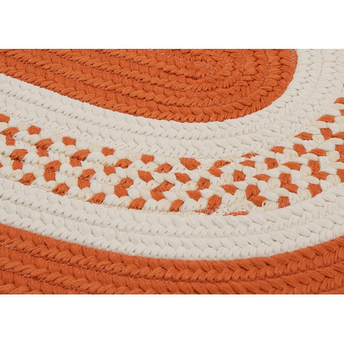 Colonial Mills Crescent Orange Sample Swatch