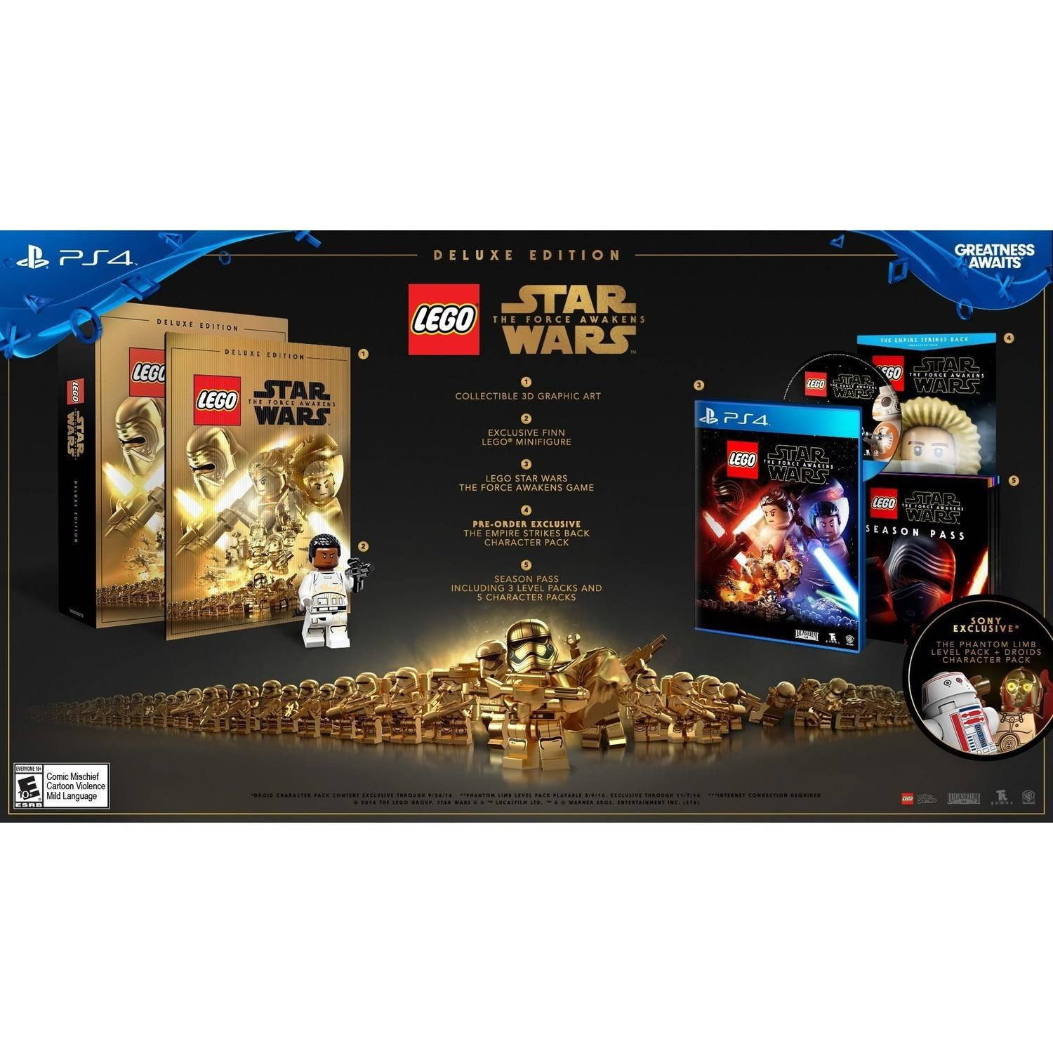 LEGO Star Wars The Force Awakens Deluxe Edition (PS4)