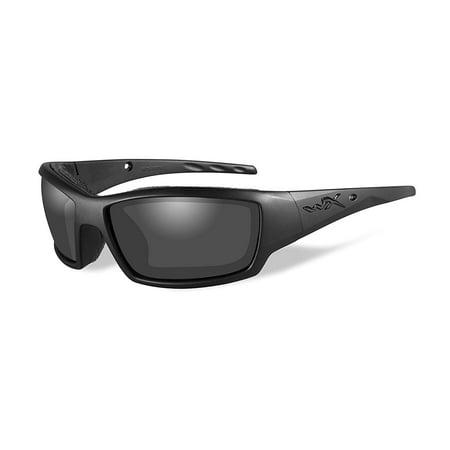 Wiley X WX Tide Men's Sunglasses, Smoke Grey Lens, Black Ops Matte Black Frame - CCTID01 ()