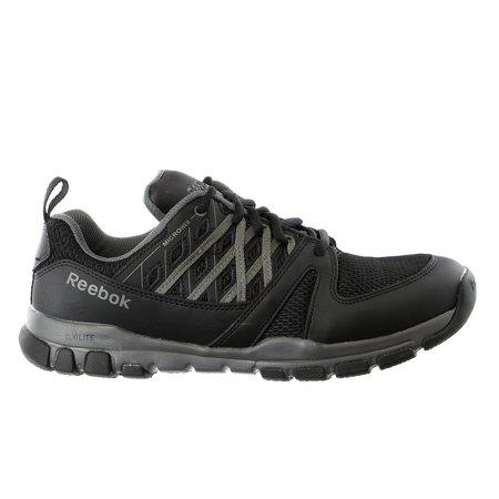 d9747a18f0c Reebok - Reebok Sublite RB4015 Athletic Work Sneaker Soft Toe Safety Shoe -  Mens - Walmart.com