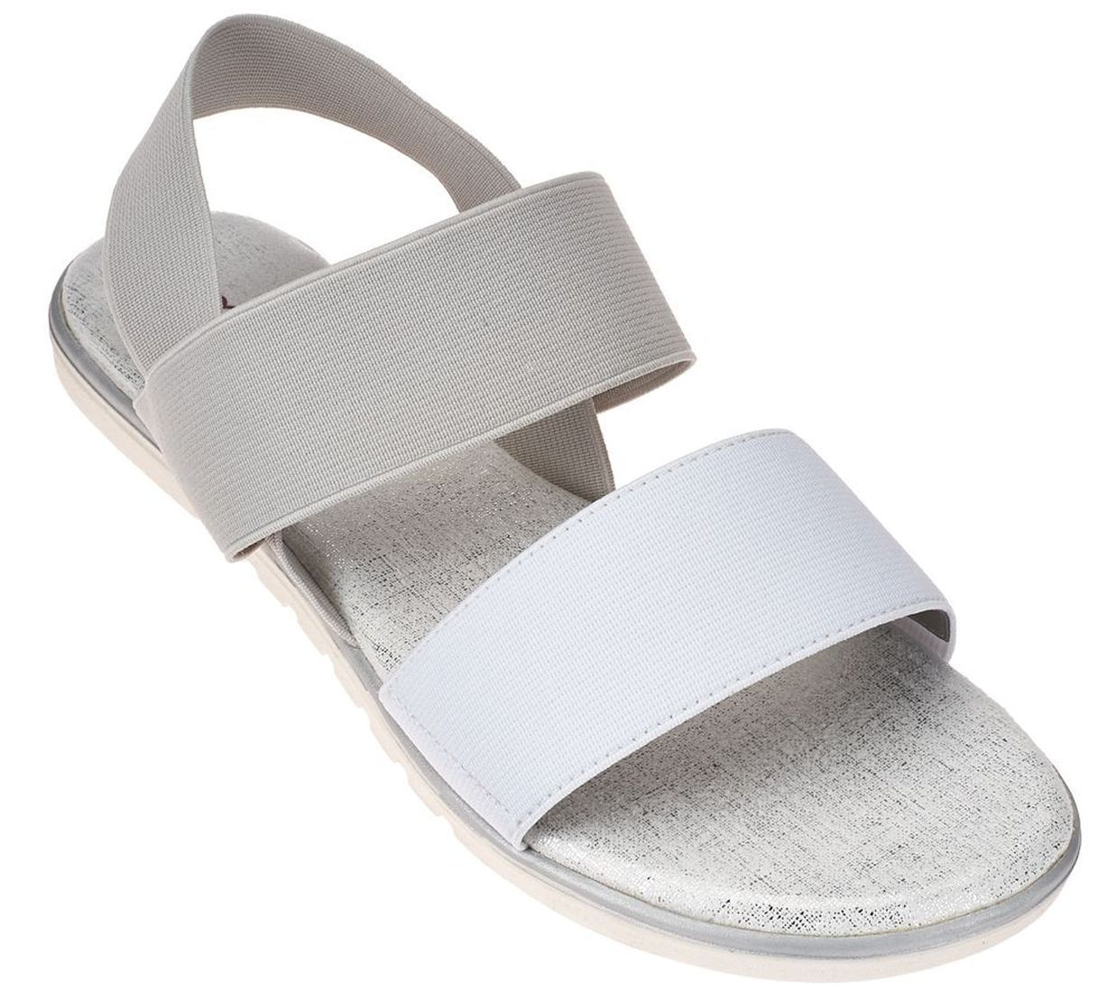 Me Too Gored Double Strap Sandals Backstrap Brielle A264786 by