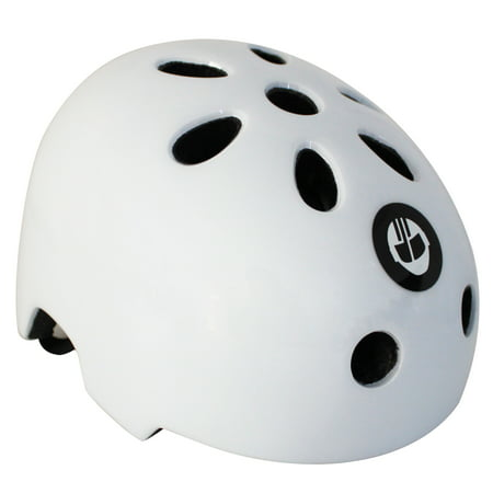 GOTRAX Bike Skateboard & Scooter Helmet - Medium - White