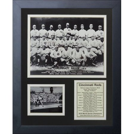 Legends Never Die 1919 Cincinnati Reds Champions Framed Memorabilia