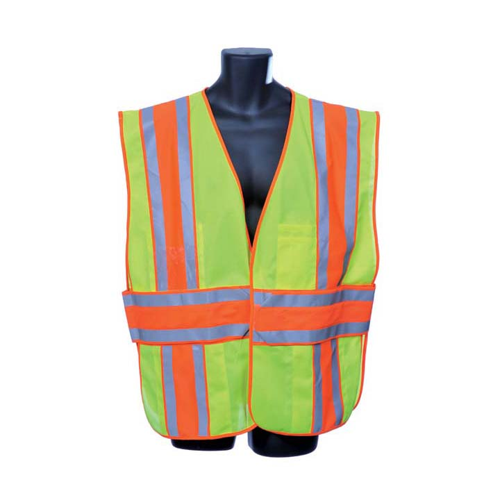Class II Lime Green Vest Lot of 1 Pack(s) of 1 Unit