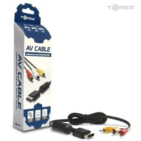 - PS3/ PS2/ PS1 Standard AV Cable - Tomee