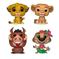 Funko POP! Disney Lion King Collectors Set - Simba, Nala, Luau Pumbaa, Luau Timon