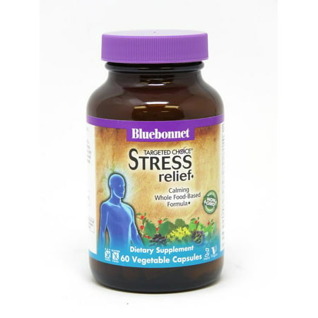 Bluebonnet Nutrition Targeted Choice Stress Relief®, 60 Count