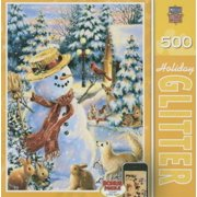 Holiday Glitter Puzzle, Holiday Party, 500 Pieces