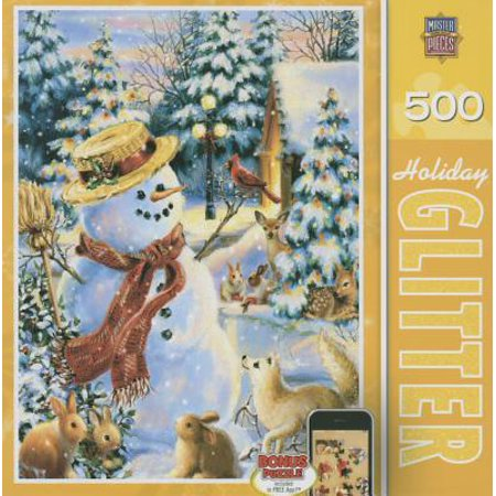 Holiday Glitter Puzzle, Holiday Party, 500 Pieces](Halloween Party Logic Puzzle)