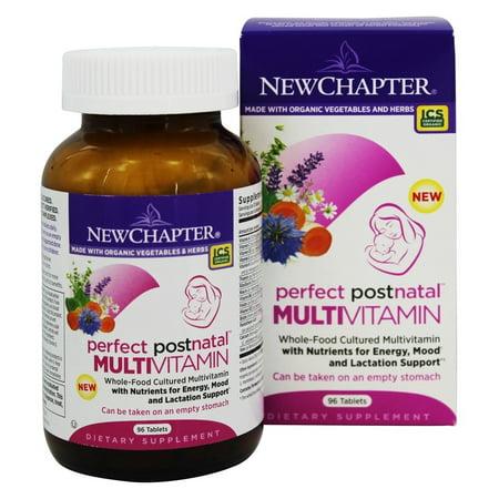 New Chapter - Perfect Postnatal Multivitamin - 96