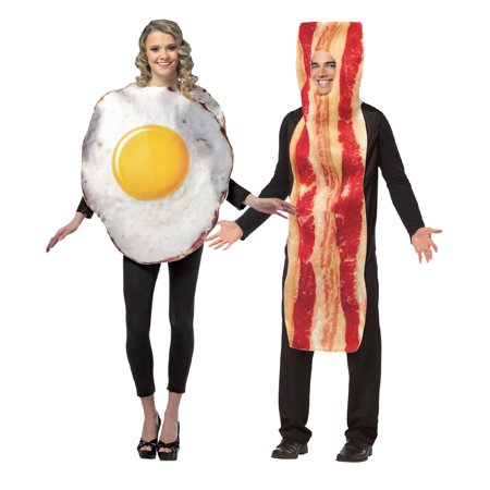 Adult Bacon and Eggs Costume - Bacon And Egg Costume