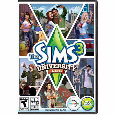 Sims 3 University Life Expansion Pack (PC/Mac) (Digital