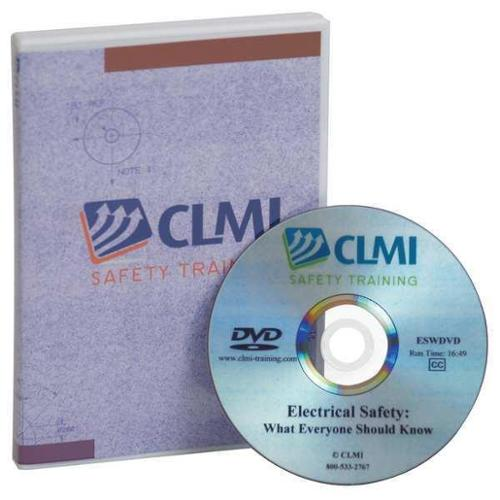 CLMI SAFETY TRAINING IOCDVD Office Ergos Cl-mgt Training, DVD Only