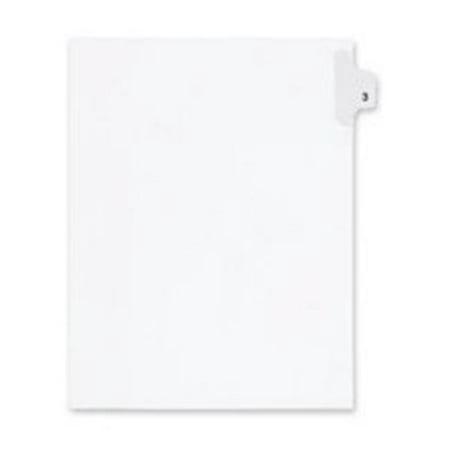 Solids 90 Tabs (Inc.  Index Dividers- Number 90- Side Tab- .505 Cut- Letter- 25-ST- WE 5 pak )