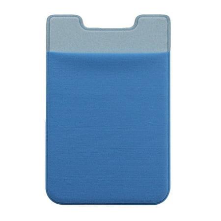 AkoaDa Mobile Phone Back Cards Holder Wallet Credit ID Card Pocket Adhesive Sticker