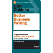 HBR Guide: HBR Guide to Better Business Writing (HBR Guide Series) (Hardcover)
