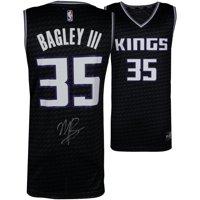 Marvin Bagley Autographed Jersey - III Black Fastbreak FANATICS - Fanatics Authentic Certified