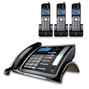 RCA ViSYS 25255RE2 plus (2) 25055RE1 DECT 6.0 2-Line Corded/Cordless Phone