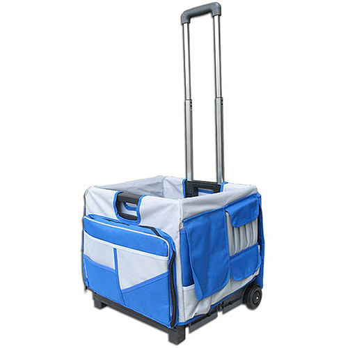 Olympia Tools Pack-N-Roll 48-Pocket Foldable Cart