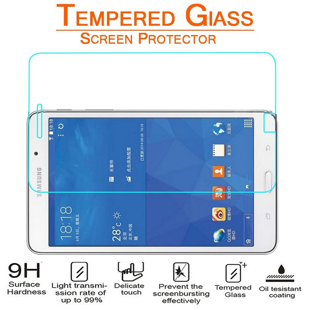 Arc® Samsung Galaxy Tab 4 7.0; T230 Tempered Glass Screen Protector