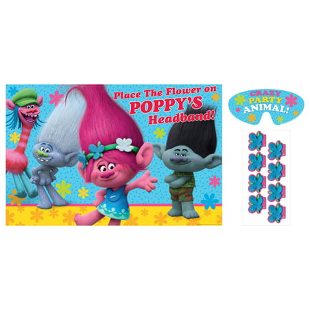 Trolls Party Game Poster (1ct) - Games For Christmas Parties