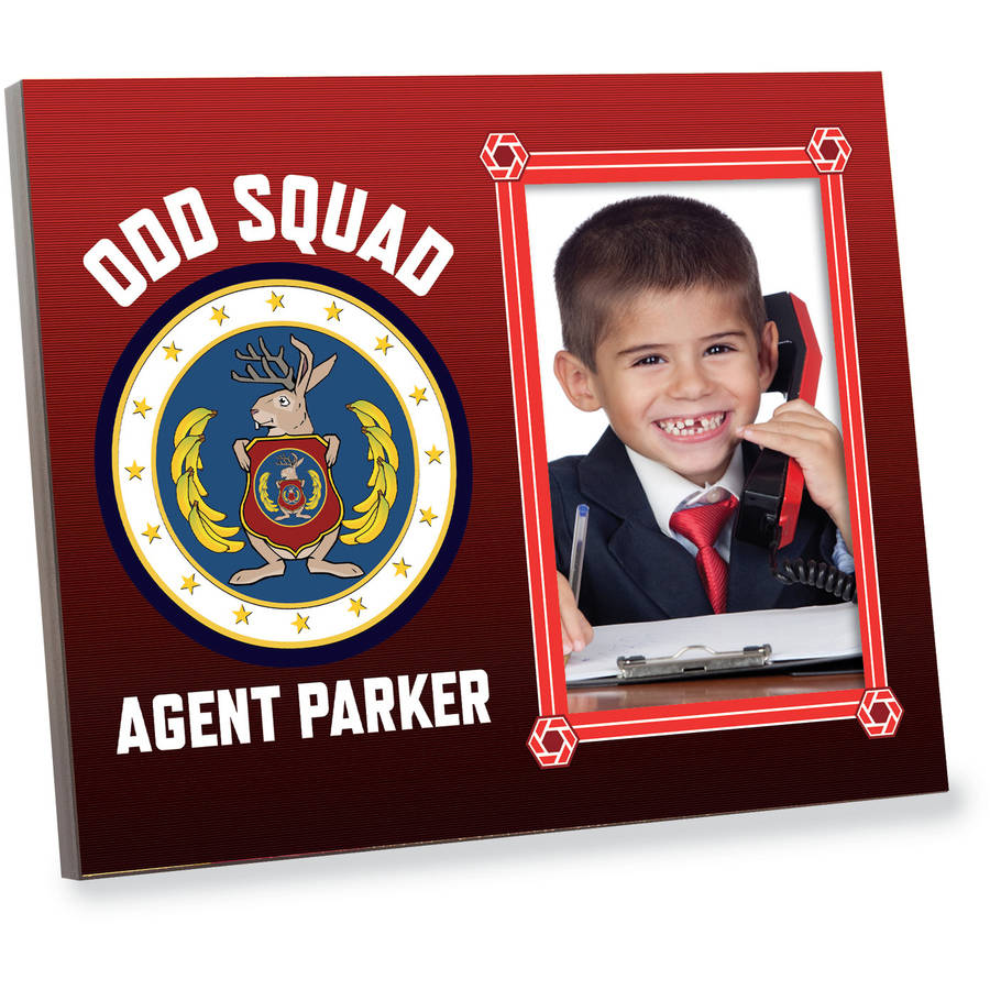 Personalized Odd Squad Agent Picture Frame