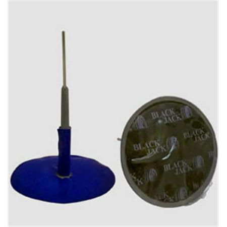 Black Jack Tire Repair BJK-CU-303-12 Patch Plug Combo 0.12 In. Stem