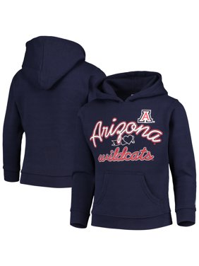 Arizona Wildcats Russell Athletic Girls Youth Classic Fleece Pullover Hoodie - Navy