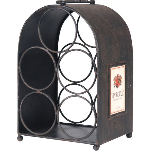 Wilco Home 5 Bottle Tabletop Wine Rack