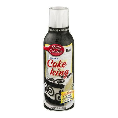 Decorating Cake Icing Betty Crocker : Betty Crocker Decorating Cake Icing Black, 6.4 OZ ...